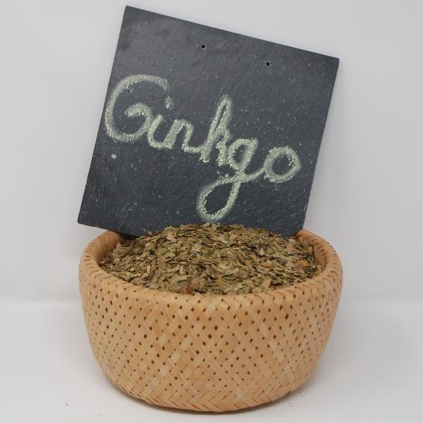 Ginkgoblätter, getrocknet 500 Gramm