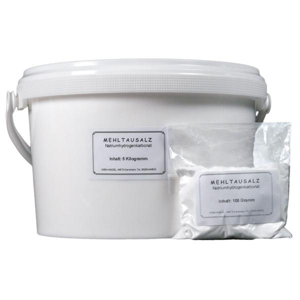 Natriumhydrogencarbonat, Natron, NaHCO3