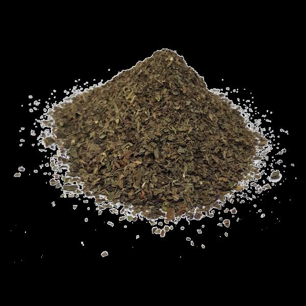 Basilikum, gerebelte Blätter