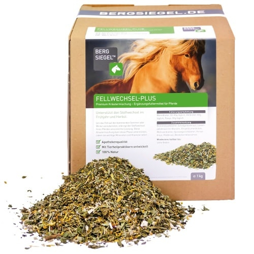 Fellwechsel-Plus für Pferde