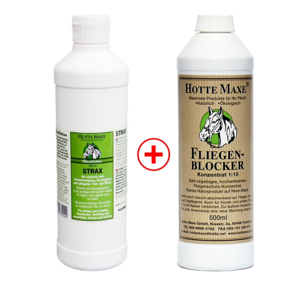 Produktprobe Strax-Hautlotion + Fliegen-Blocker